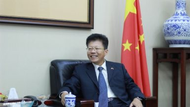 هان بينج المستشار الاقتصادى لسفارة الصين بالقاهرة