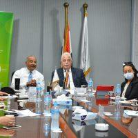 رئيس جهاز تنمية التجارة يبحث مع محافظ جنوب سيناء انشاء مناطق لوجستية ومراكز تجارية