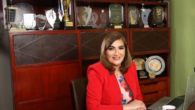 نور الزينى رئيس قطاع الاتصال المؤسسى والمسئولية الاجتماعية فى بنك قناة السويس