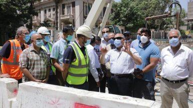 وزير النقل : مستمرون فى تنفيذ خطوط مترو الأنفاق الجديدة وتطوير الخطوط الحالية