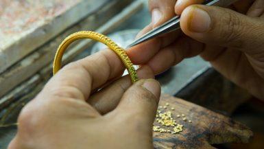 الذهب ؛ المشغولات الذهبية