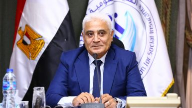 جمال عوض رئيس الهيئة القومية للتأمين الاجتماعى