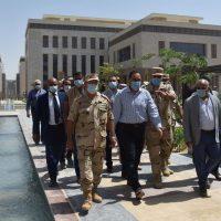 مصطفى مدبولى رئيس مجلس الوزراء ؛ العاصمة الإدارية