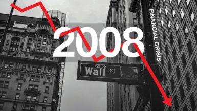 الأزمة المالية العالمية فى 2008