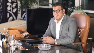 محمد لاشين رئيس مجلس إدارة شركة ماستر جروب للتطوير العقارى