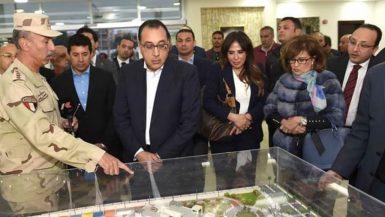 رئيس الوزراء: 95% معدل إنجاز الصالة المغطاة بمدينة 6 أكتوبر