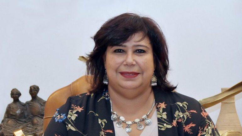 ايناس عبد الدايم وزيرة الثقافة