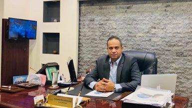 محمد أحمد رئيس لجنة الشحن الجوى بشعبة خدمات النقل الدولى التابعة لغرفة تجارة الإسكندرية