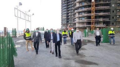 السفير اليابانى بالقاهرة يزور مدينة العلمين الجديدة