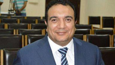 محمد فتحى عضو مجلس إدارة الاتحاد المصرى لكرة السلة