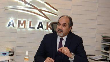 أيمن عبد الحميد الرئيس التنفيذى لشركة أملاك للتمويل